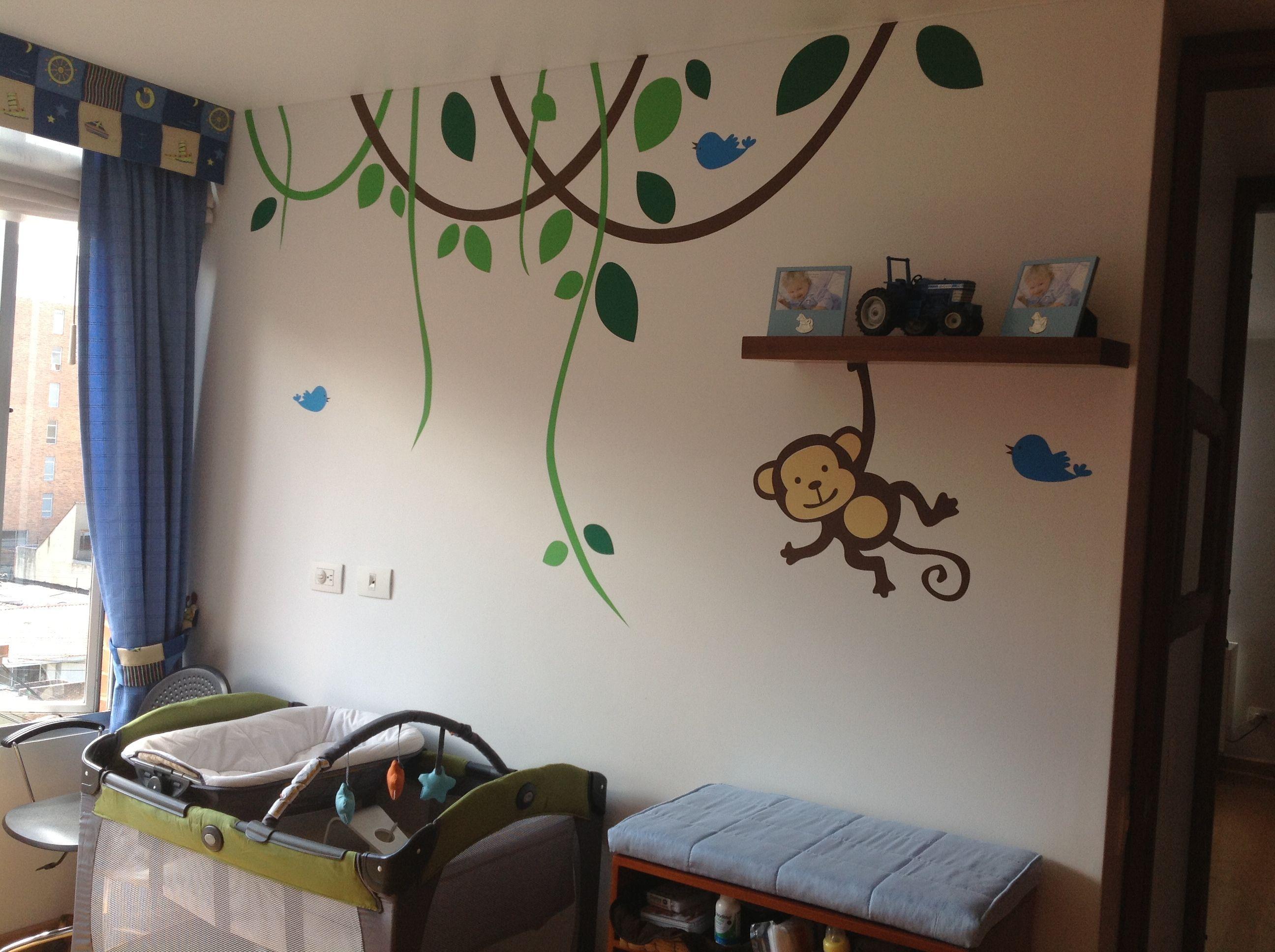 Decoracion habitacion infantil  espaciosfelices