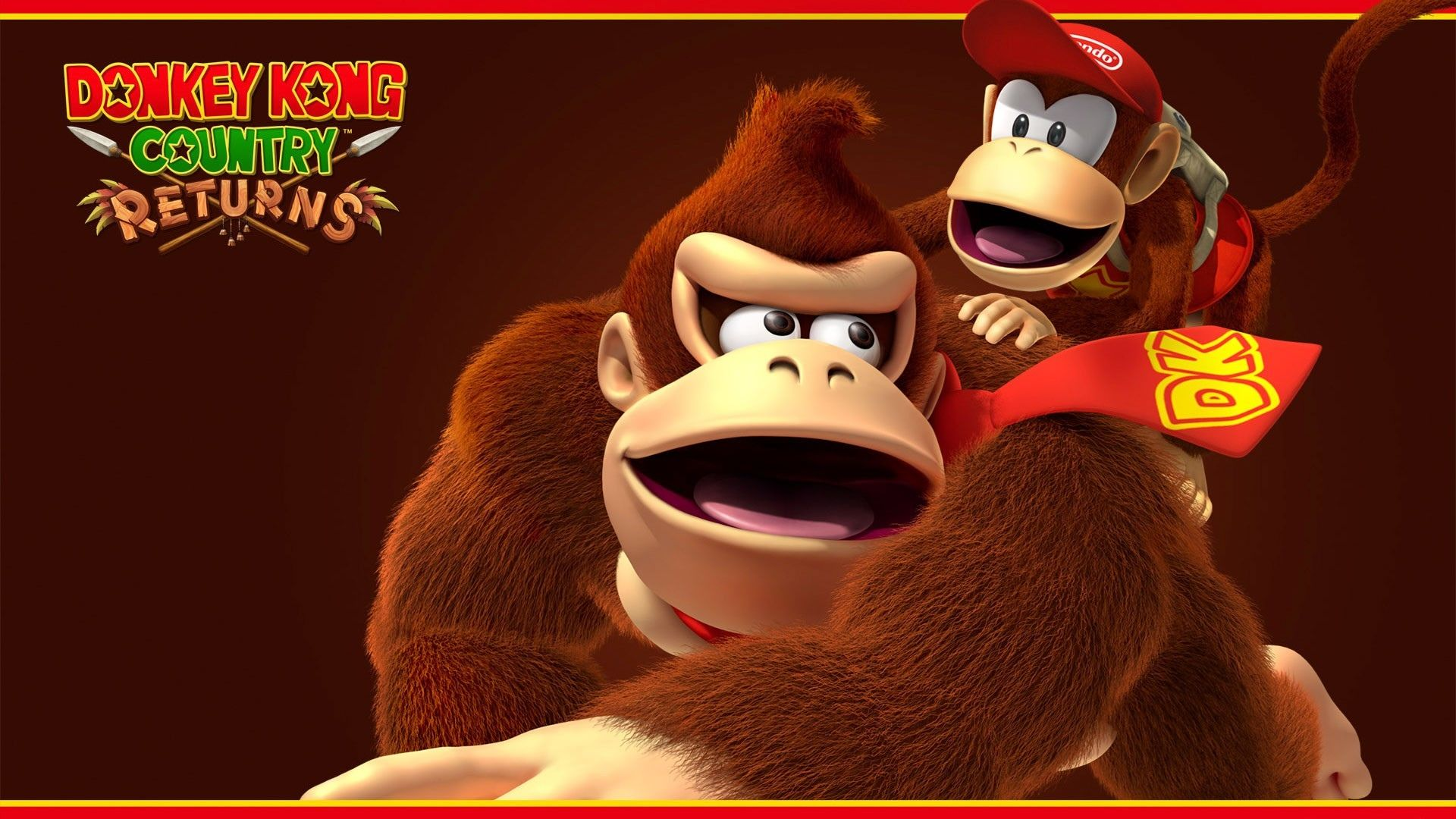 Video Game Donkey Kong Country Returns Diddy Kong Donkey Kong Wallpaper Donkey Kong Country Donkey Kong Donkey Kong Country Returns