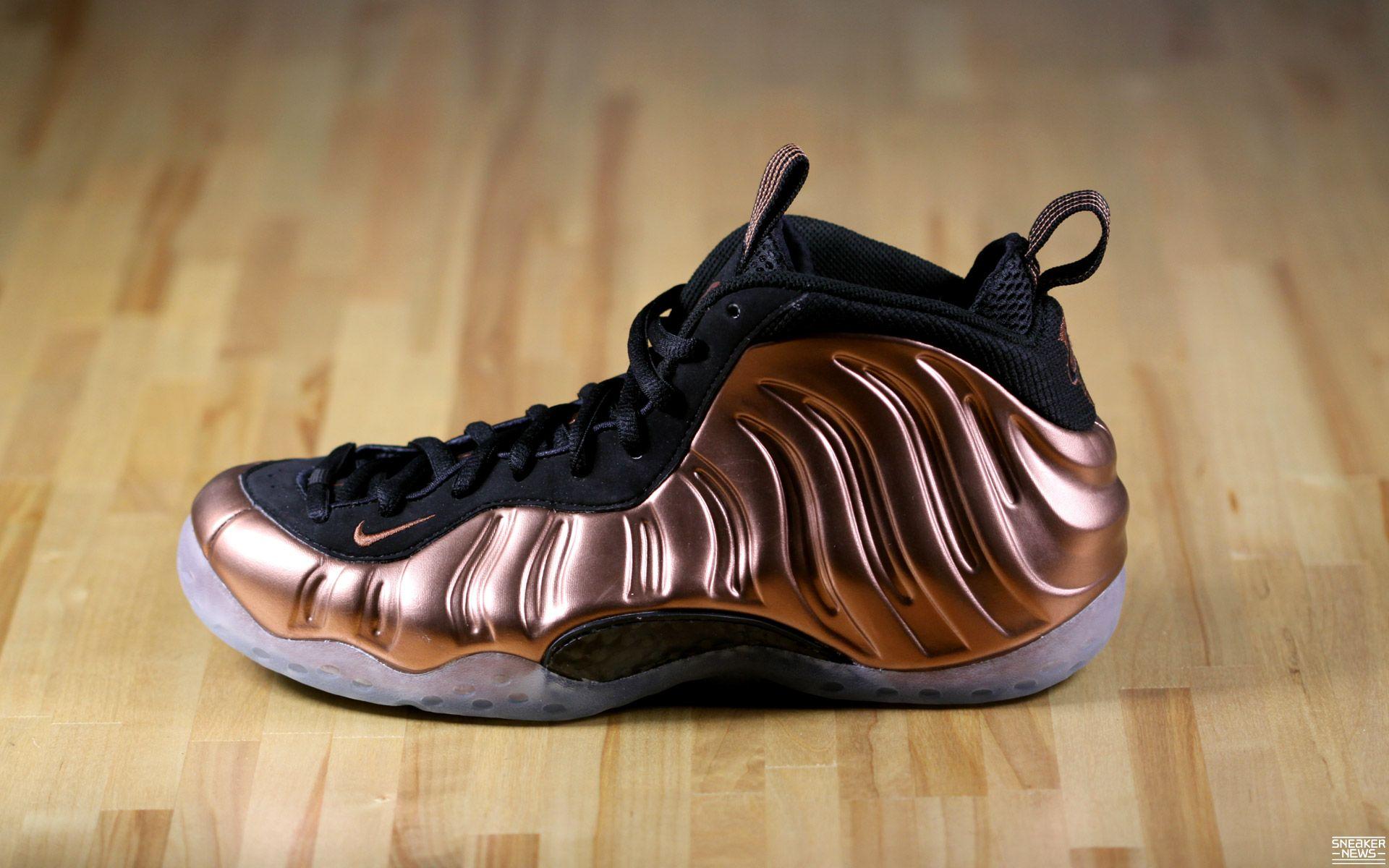 Nike Air Penny Foamposite 1 Copper Foams Foam Posites Sneakers
