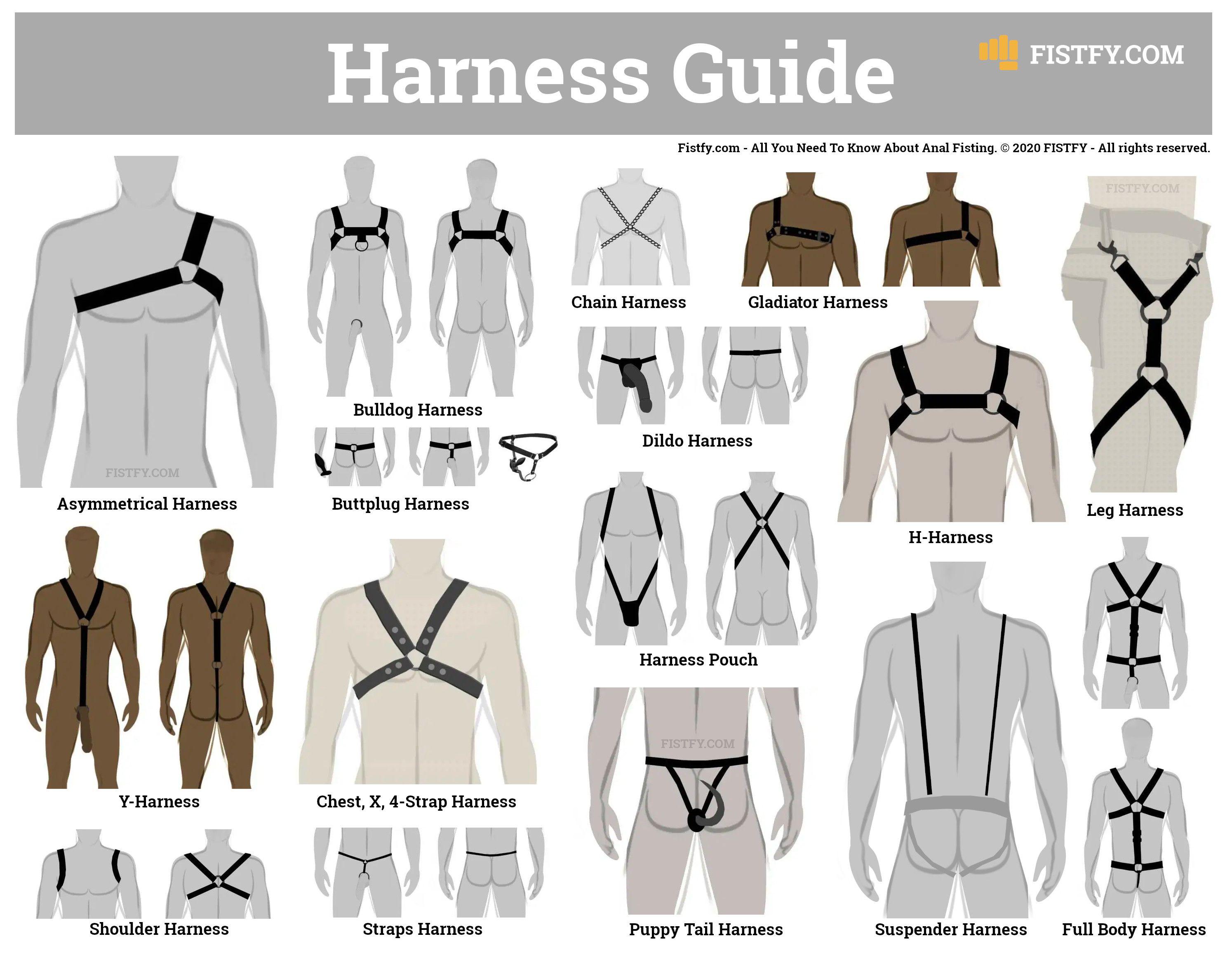 Herren Pants und Harness M