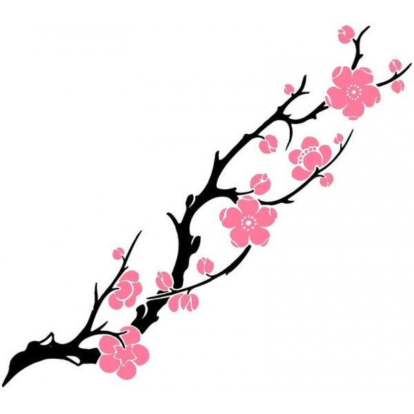 tatouage fleur de cerisier recherche google tatouage pinterest paint swatches doodles. Black Bedroom Furniture Sets. Home Design Ideas