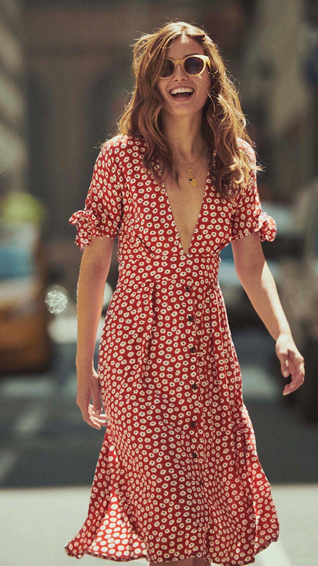 a4a0458ec42 Faithfull Yvette Dress in 2019