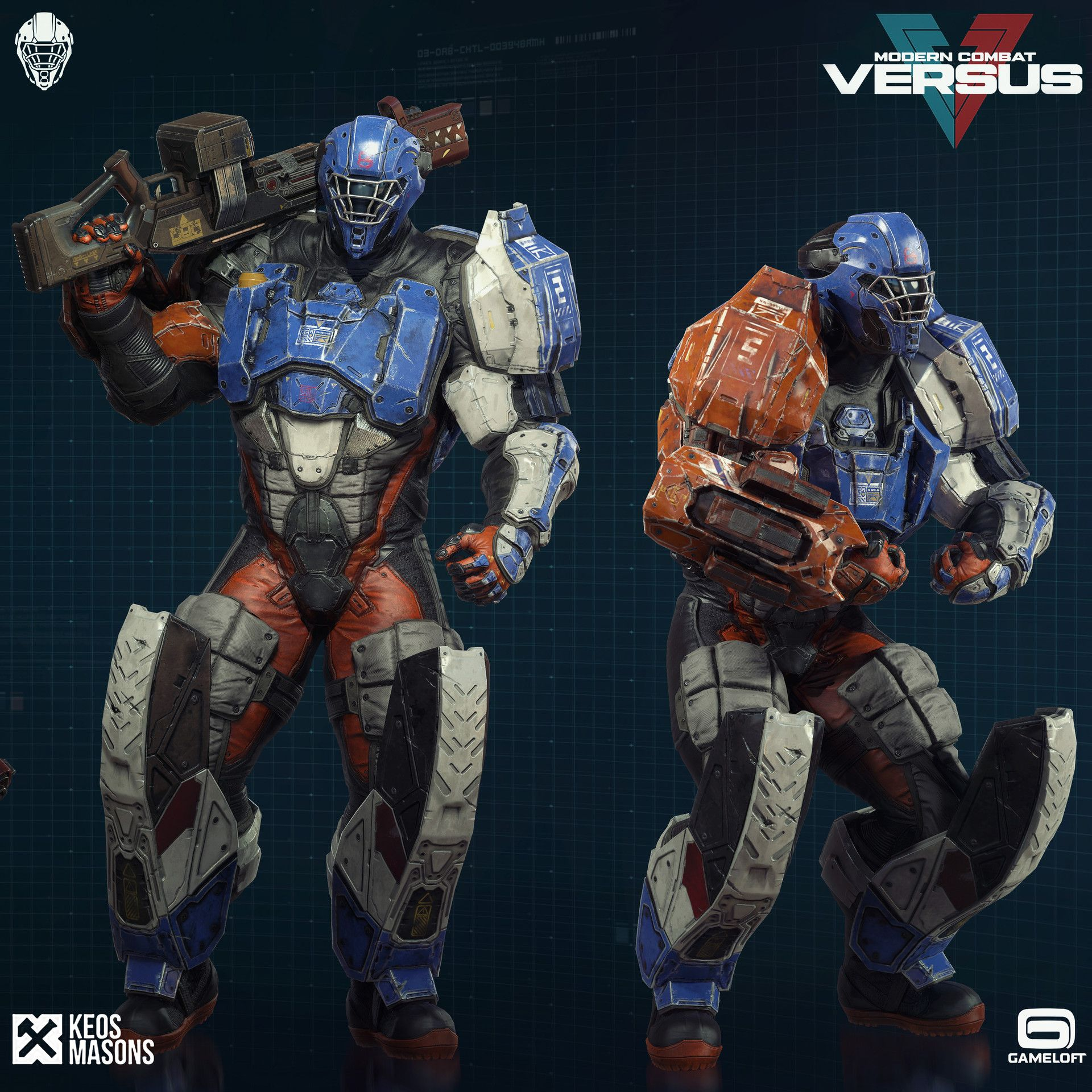 ArtStation - Modern Combat Versus New Character - Gameloft, KEOS ...