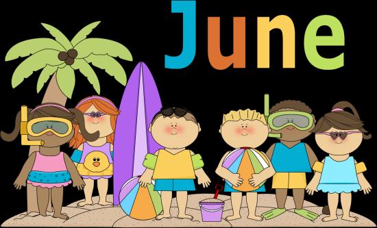June Kids | Clip Art-Months | Pinterest | The o'jays ...