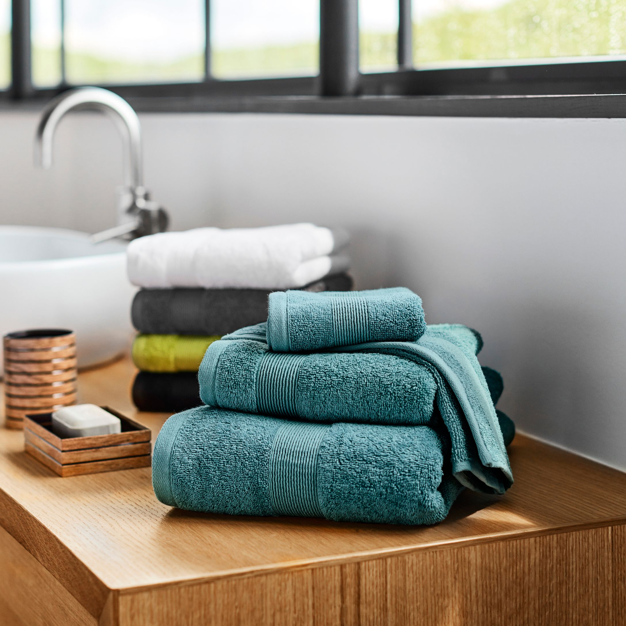 Braided Border Turkish Cotton Towels Turkish Cotton Towels