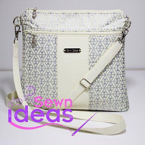 Cross-body Bag PDF Sewing Pattern | СумкиHobbies and crafts ...