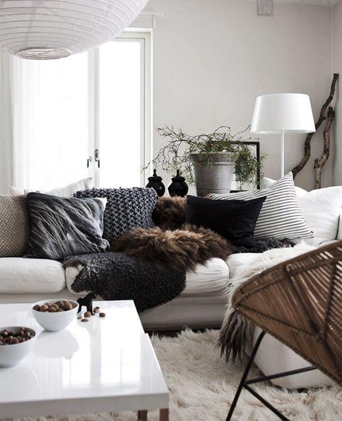 12 trendige Kissen für euer Sofa oder Bett Auf dem Blog - bett im wohnzimmer