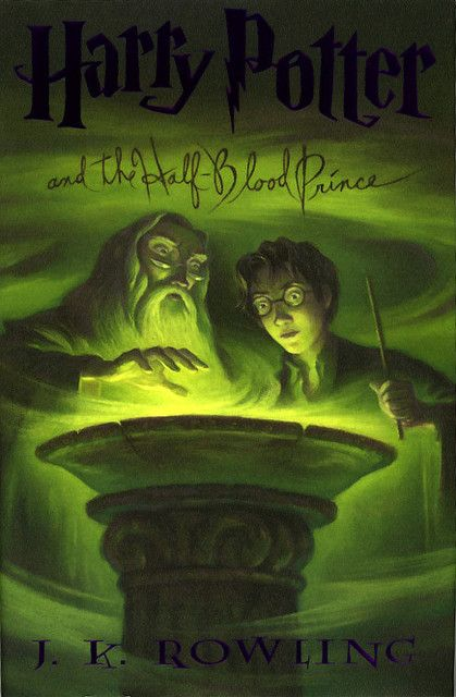 Harry Potter And The Half Blood Prince Harry Potter Book Covers