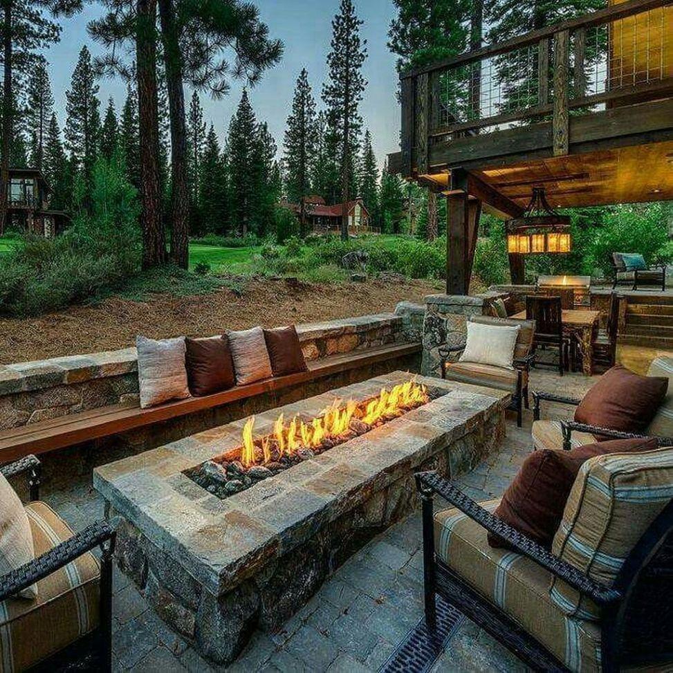 Easy Fire Pit Backyard Ideas (2)