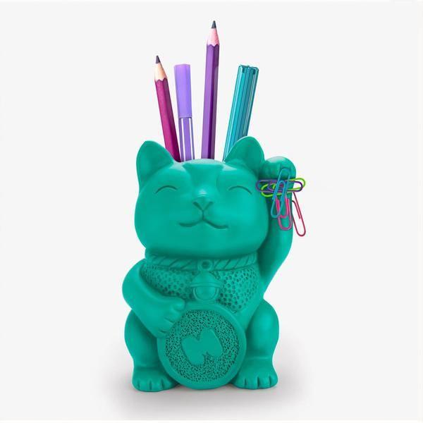 future home office gadgets. lucky cat pen pot future home office gadgets r