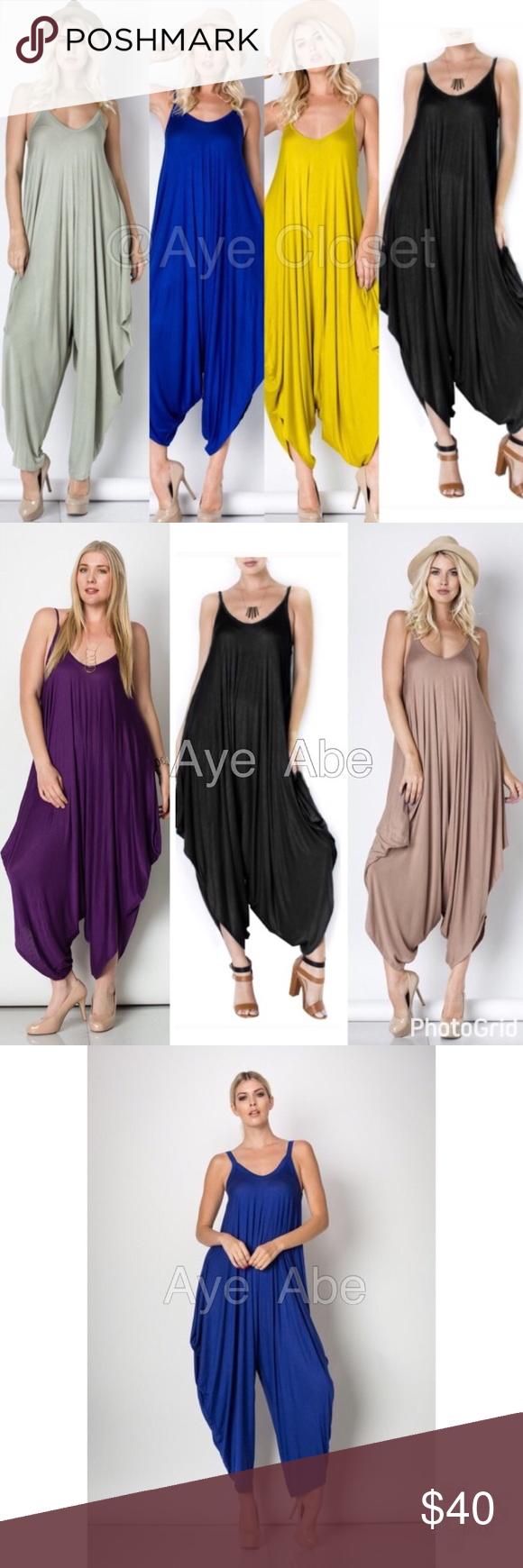 af6b1077424 Oversized loose harem jumpsuit dress sexy S-XL Brand new Oversized Loose  fit drape harem