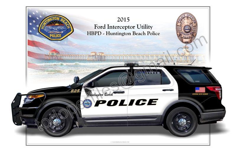 Huntington Beach Police Department Ford Explorer Huntington Beach Police Police Ford Explorer