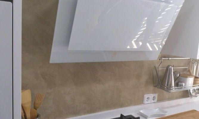 Dise o para tu cocina con suelos paredes y mobiliario for Microcemento paredes cocina