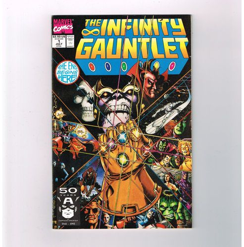 INFINITY GAUNTLET 6-part NM Copper Age series starring Thanos!! http://r.ebay.com/dCL0AA