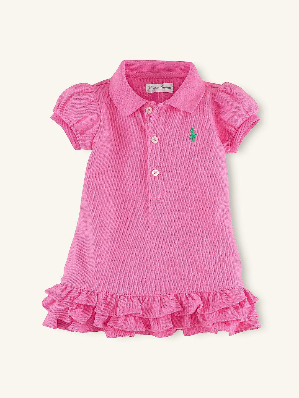 857636552 Cupcake Polo Dress - Dresses & Rompers Layette Girl (Newborn–9M) -  RalphLauren.com