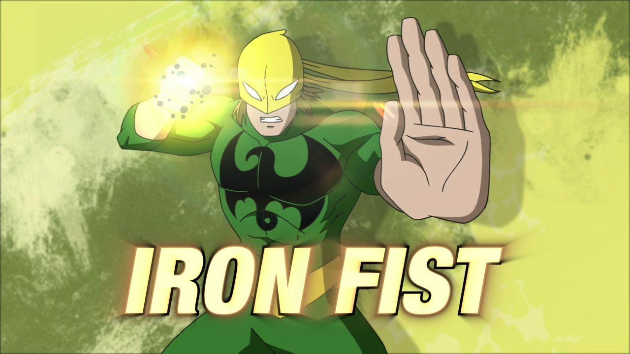 Iron fist marvel ultimate spider man