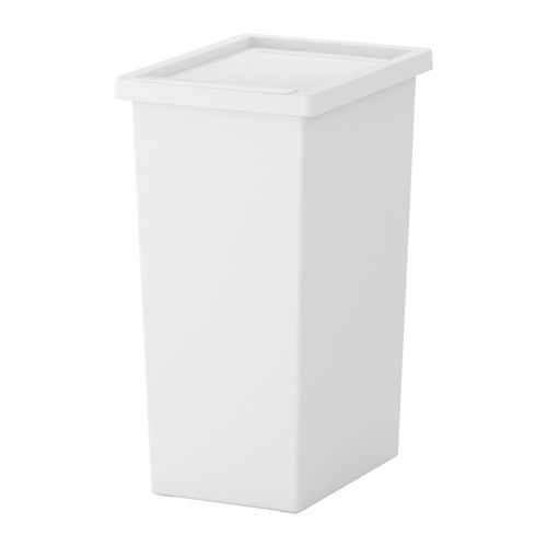Ikea Filur White Bin With Lid Ikea Ikea Ikea Kitchen