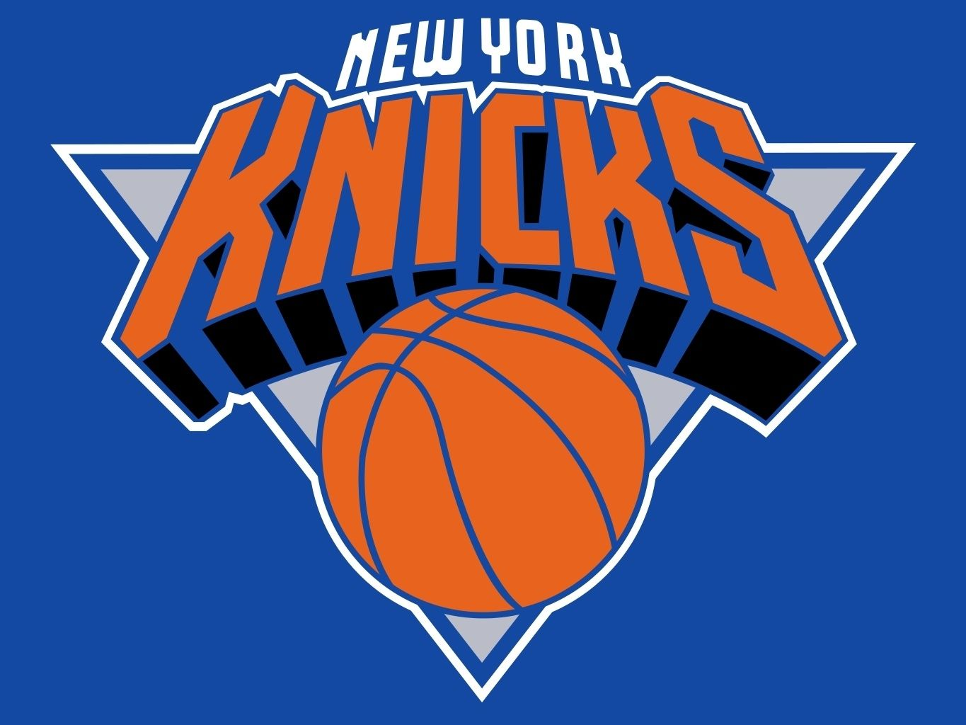 030767d88 New York Knicks Applique Banner Flag.  THIS IS NOT your average
