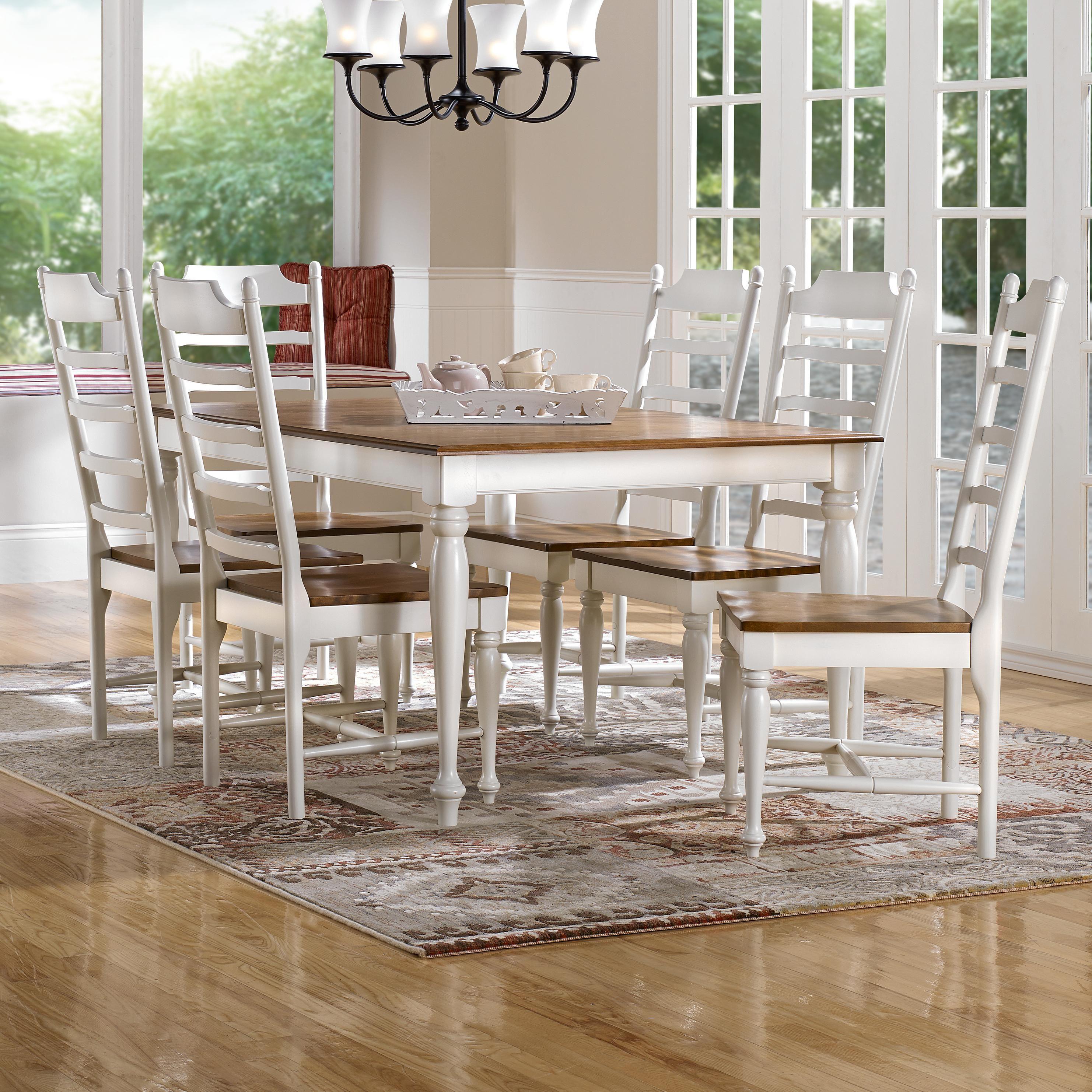 Gourmet - Custom Dining <b>Customizable</b> Rectangular Table Set ...