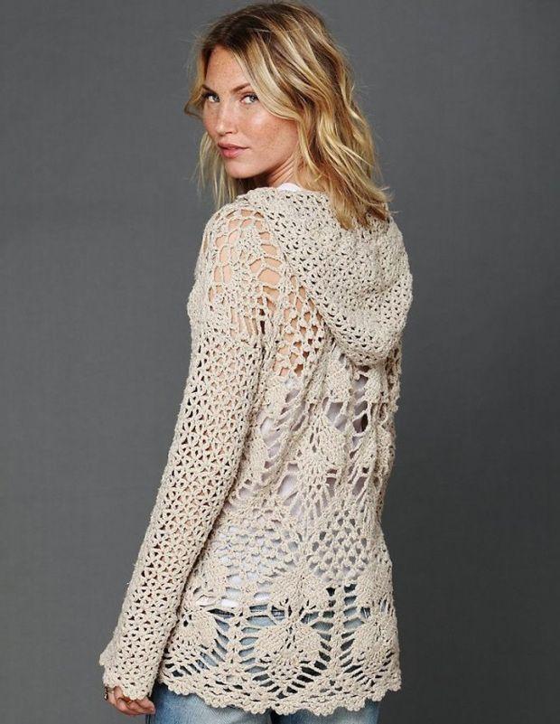 c7e5d1260a858 ATMOSPHERE Tunic Crochet Pattern – Crochet Tutorial in English
