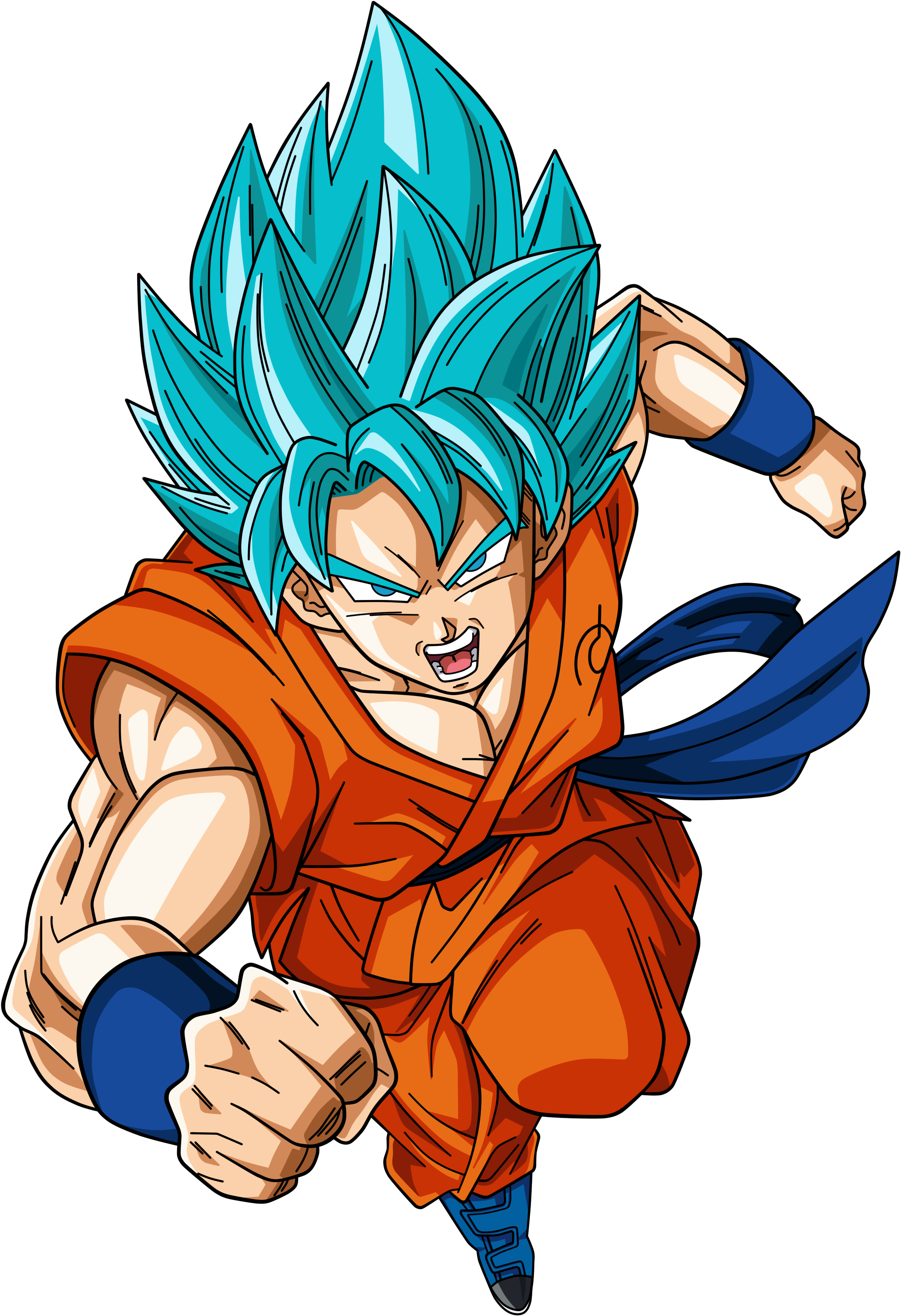 Son Goku Super Saiyan God Super Saiyan By Dark Crawler D8zkljz Png