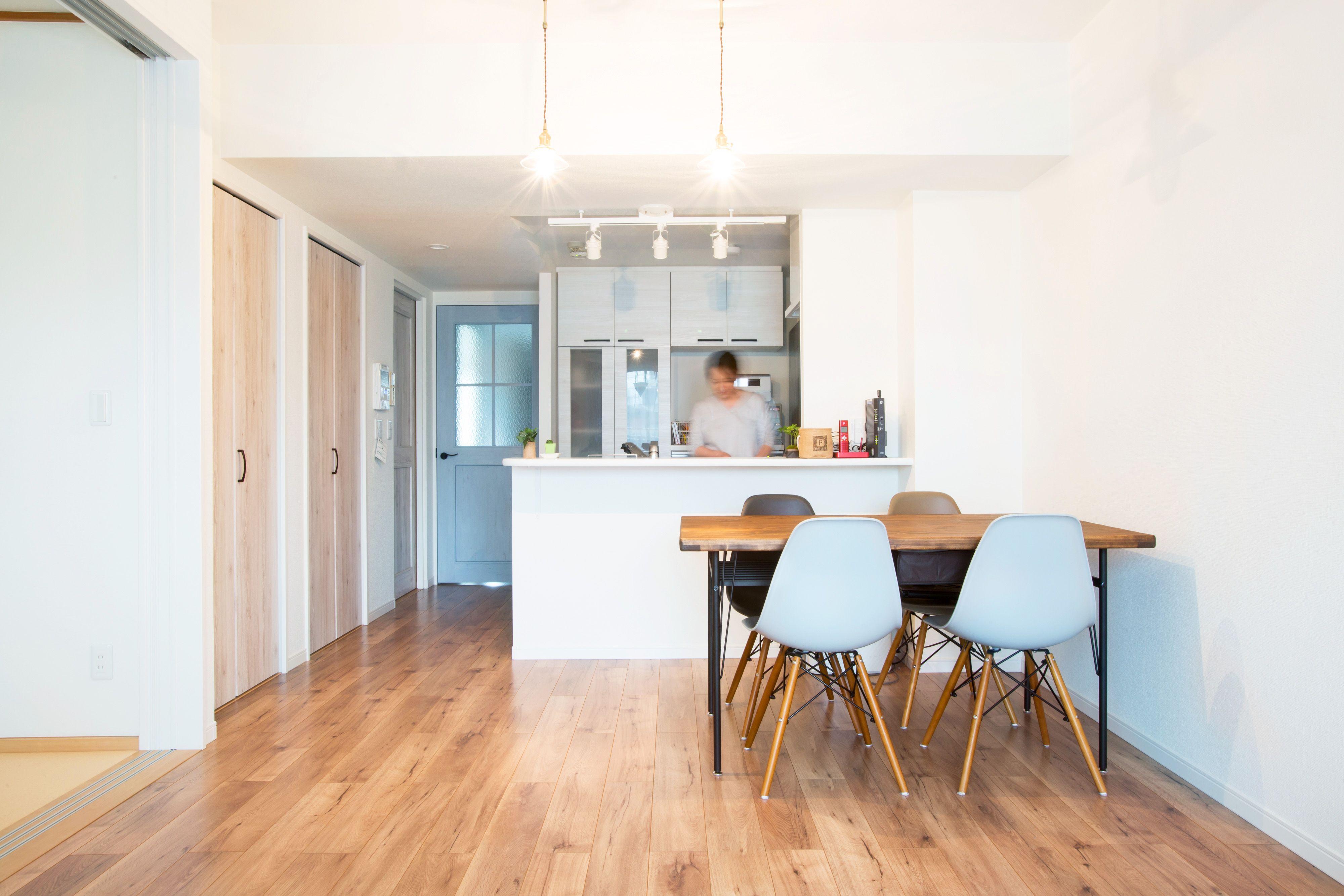 ビンテージ家具が映えるマンションリノベ ラビングホーム山口企画設計東京支社のフォトギャラリー リノベーション 和室 リビング 模様替え