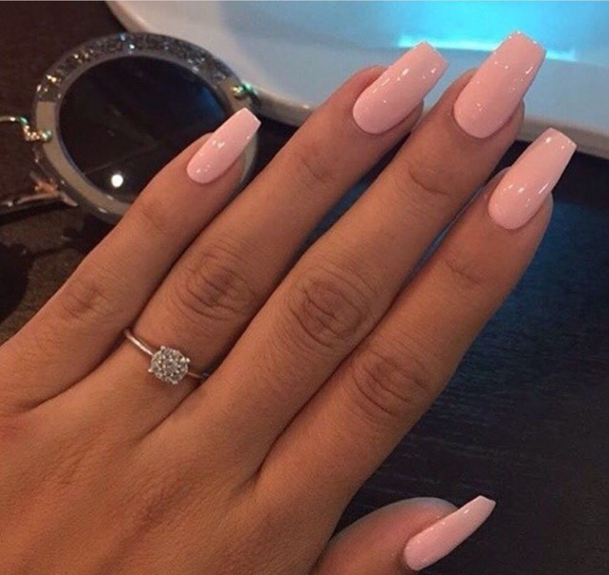 Pretty in Pink Various kinds of acrylic nails | Pink ...