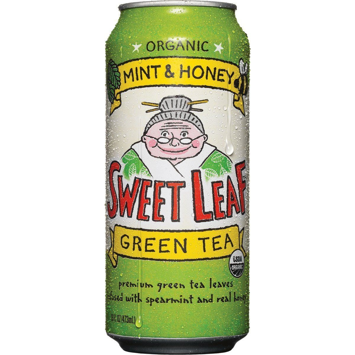 Sweet Leaf Organic Green Tea. Delicious.