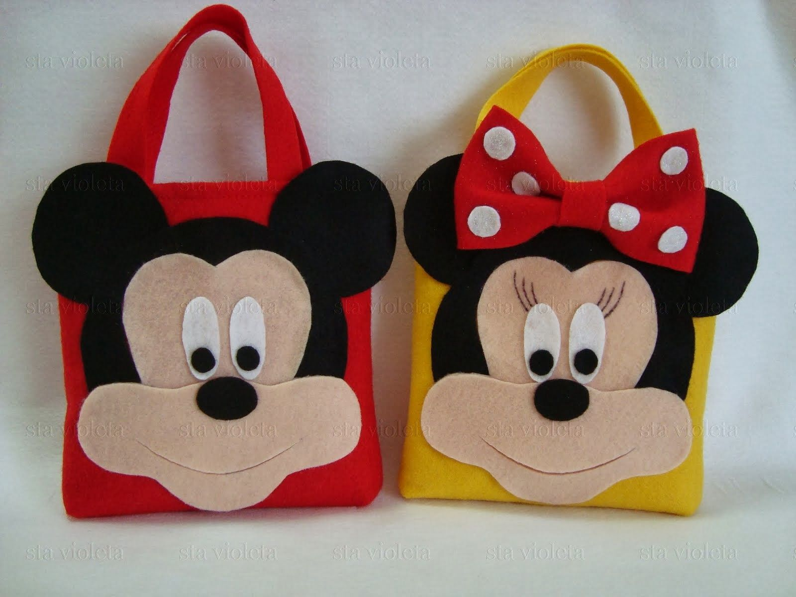 Lata + Mochila Saco Mickey Disney