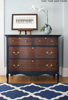 vintage dresser restoration before and after decorating rh pinterest ie