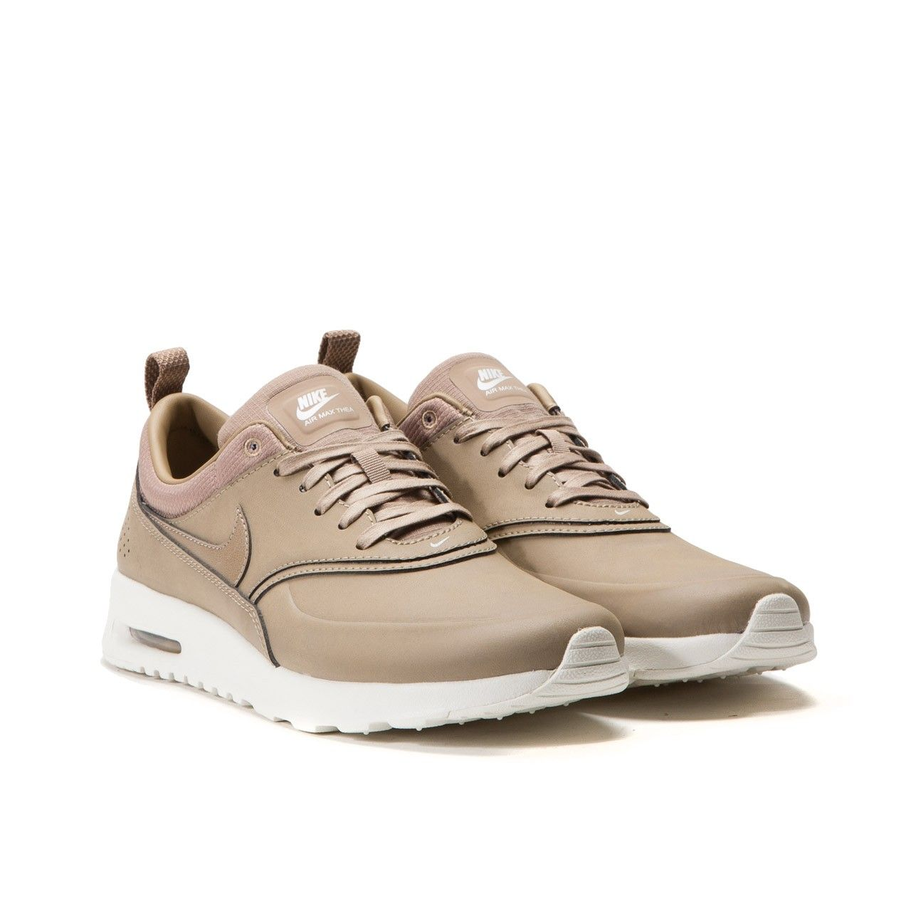 nike air max thea wmns prm beige background