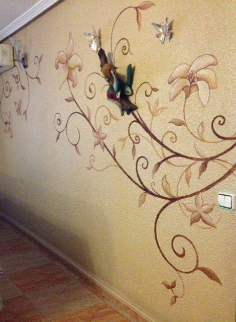 Pintura de pared para decorar ideas para el hogar pinterest - Ideas pintura paredes ...