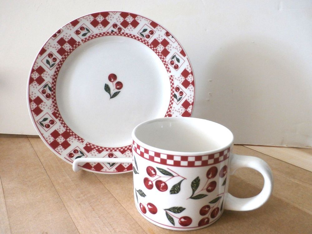 2 Replacement Pieces For Your Majesticware Oneida Cherries