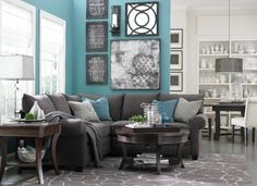 Gray Sofa Decorating Color