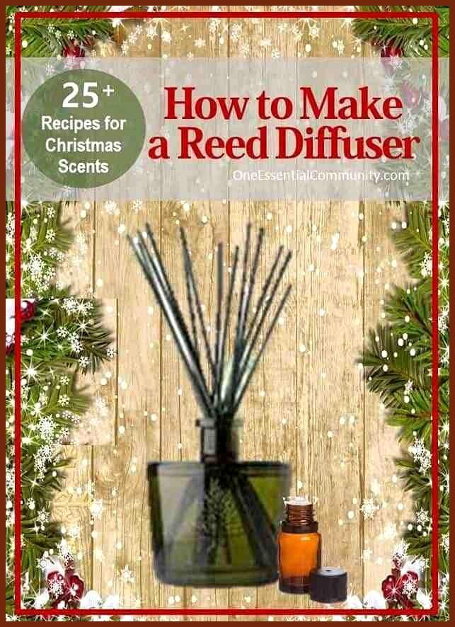 Photo of #Weihnachten #Diffuser #Essential #Oil #Recipes #Reed