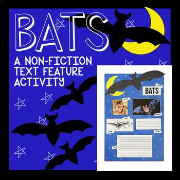 This is a fun way to learn nonfiction text features! After you have gone over text features you can use this activity as an assessment or just as a fun way to solidify what they've learned. If you would like to check out my nonfiction text feature posters head here: