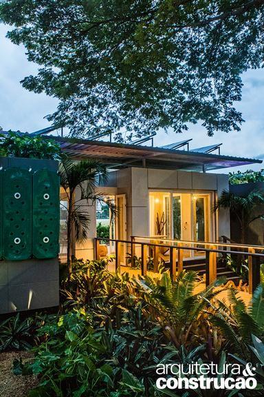 Foram oito anos de experiências até que a Casa Aqua se materializasse neste modelo de residência erguido e mantido sem desperdícios. Confira a seguir os detalhes da proposta