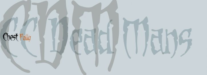Dead Mans font download