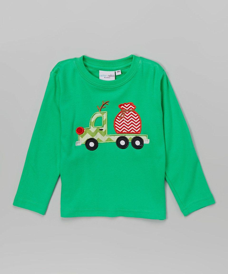Green Truck Toddler Hoodie Sweatshirt