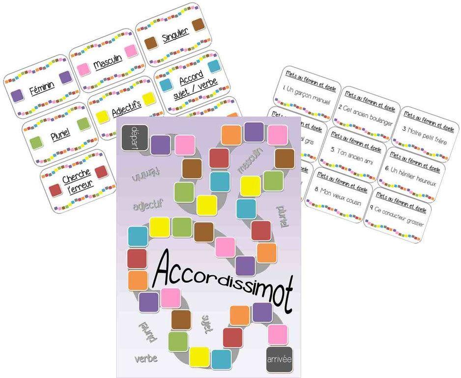 accordissimot est un jeu d u0026 39 orthographe  ax u00e9 sur les accords