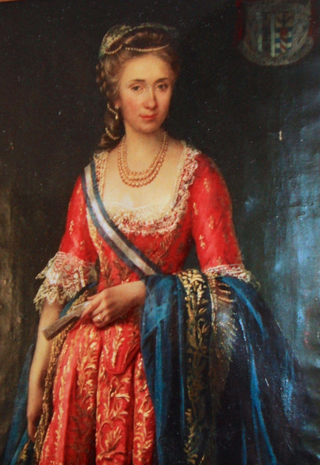 Maria Antonia Cattaneo Della Volta Princesse De Francavilla