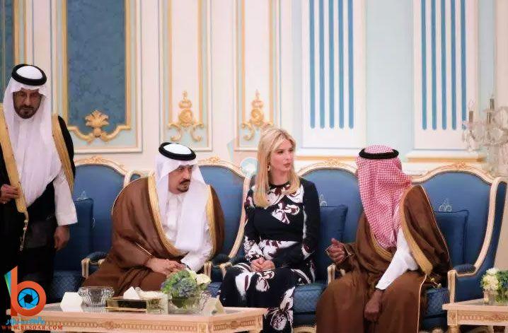 صور ابنة ترامب بالسعودية