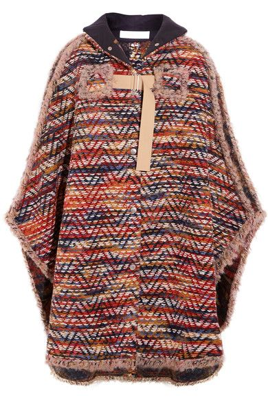 89d7354b1e Pin by Basima on Cloaks & Capes ❤ | Knitted cape, See by chloe, Men ...