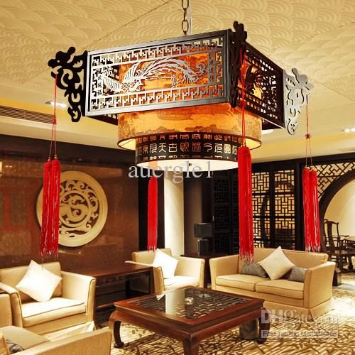 Chinese Style Pendant Light Living Room Lights Classical Other LED