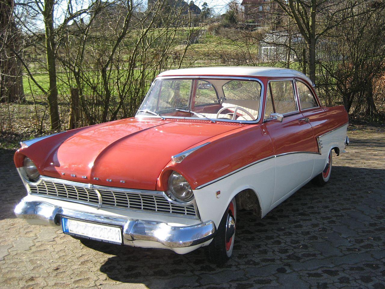 1958 ford taunus 17 m de luxe p2 interior ford. Black Bedroom Furniture Sets. Home Design Ideas