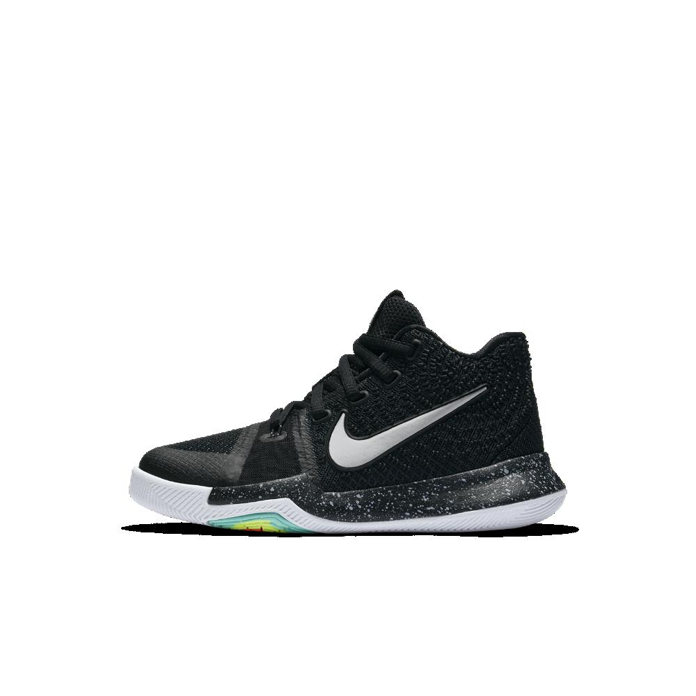 9b174ae894a0 Nike Kyrie 3 Little Kids  Basketball Shoe Size 11C (Black) - Clearance Sale