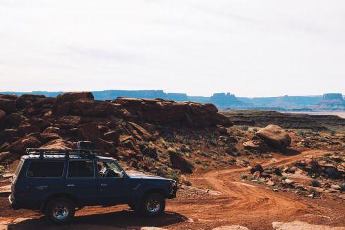 "dirtlegends: ""Land Cruisen on the White Rim Trail """