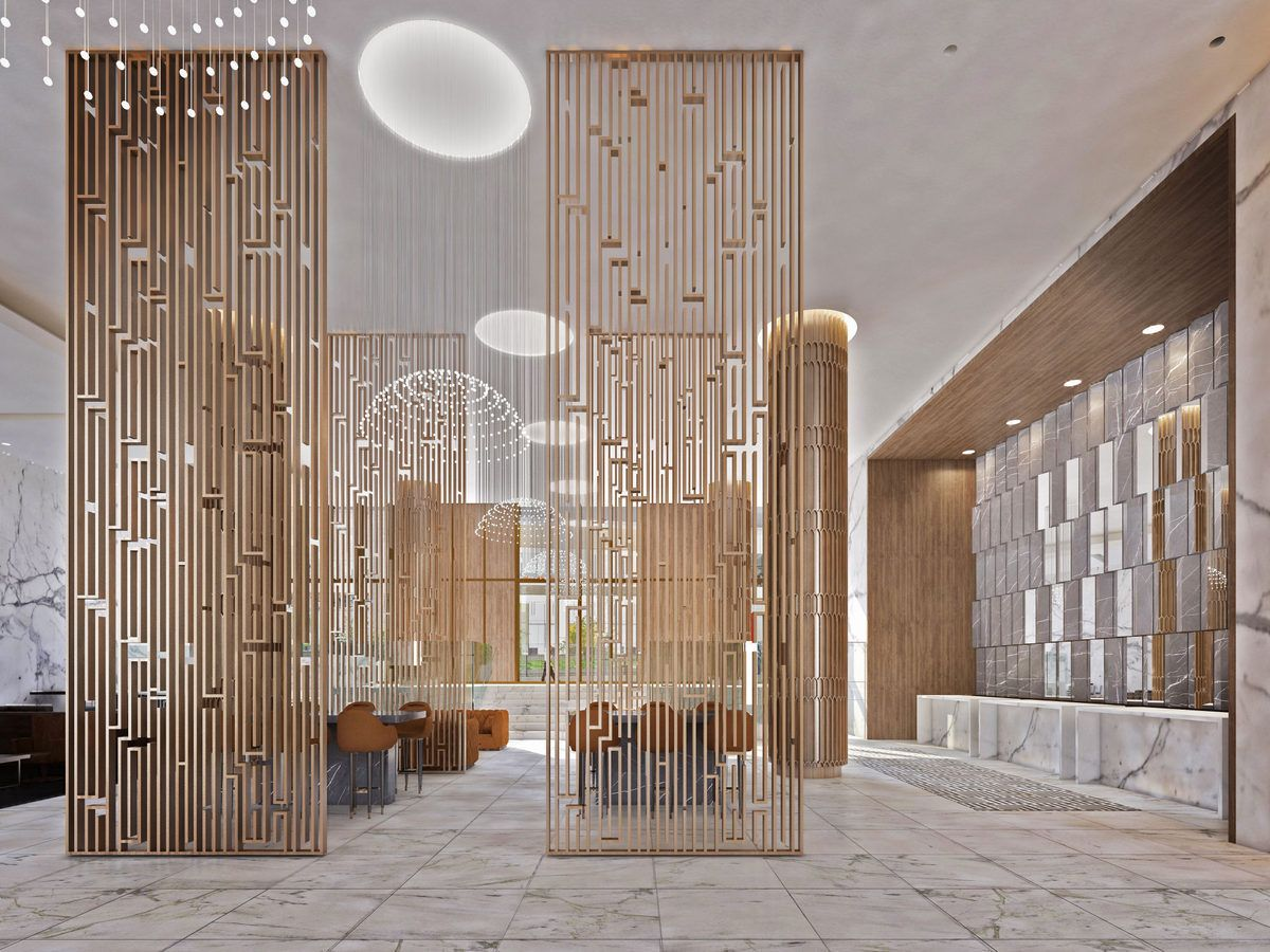 See the new art deco look for the financial district sheraton
