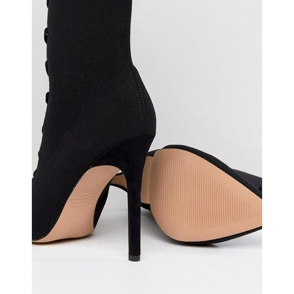 Aldo Miassa Pull On Sock Boot with Lace Detail j5Y9TUs