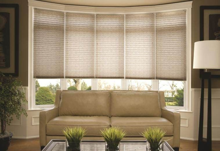Bow window treatments shades living room windows - Living room window treatments for large windows ...